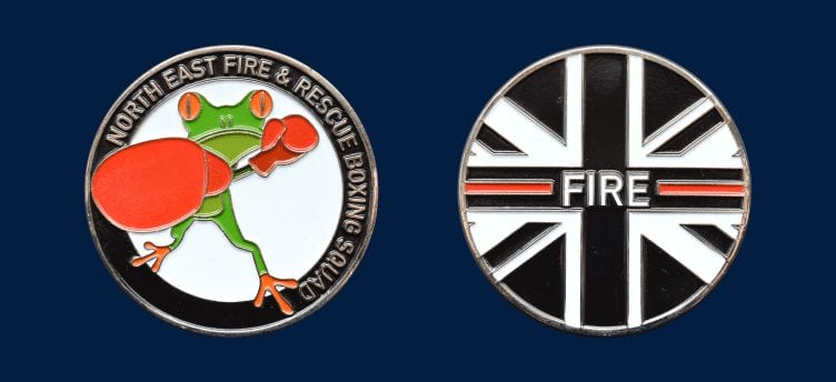 fire and rescue coin