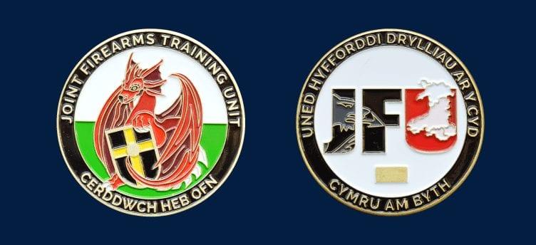 firearms training coin