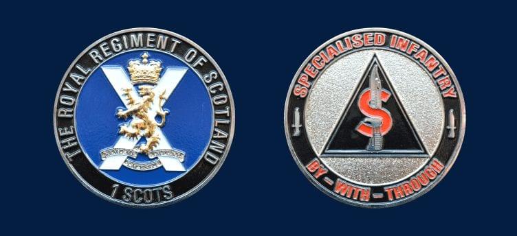 regiment of scotland coin
