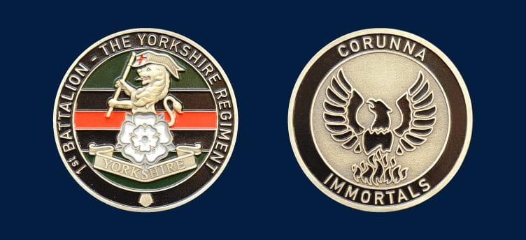 the yorkshire regiment coin