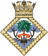 Challenge Coins UK - HMS Collingwood