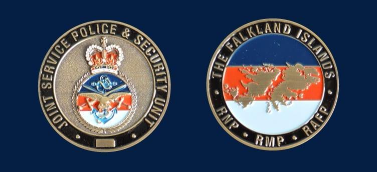 falkland-police - Challenge Coins UK