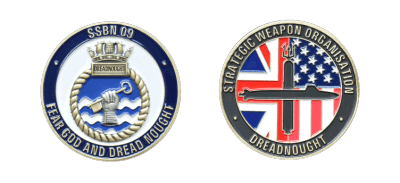 REME - Royal Electrical and Mechanical Engineers - Coins Challenge