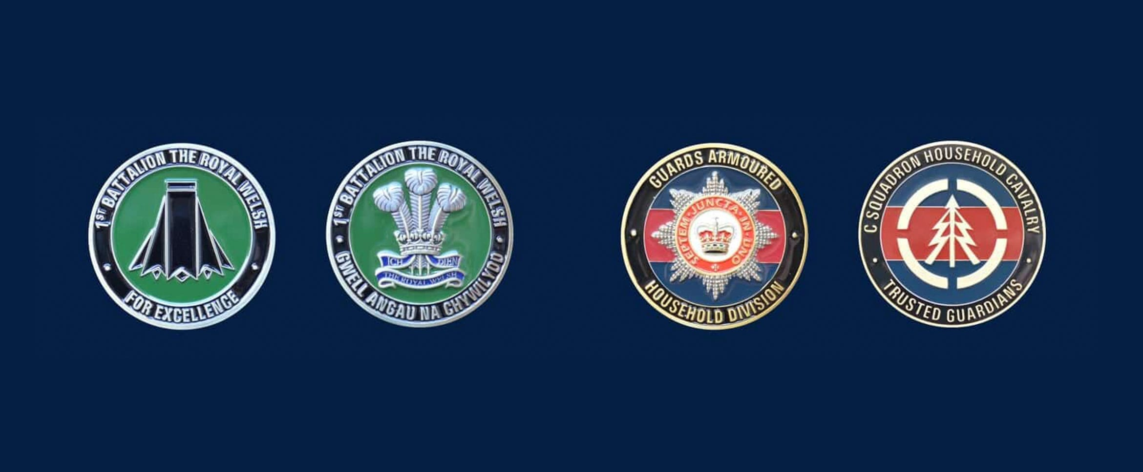 British Armed Forces Challenge Coins