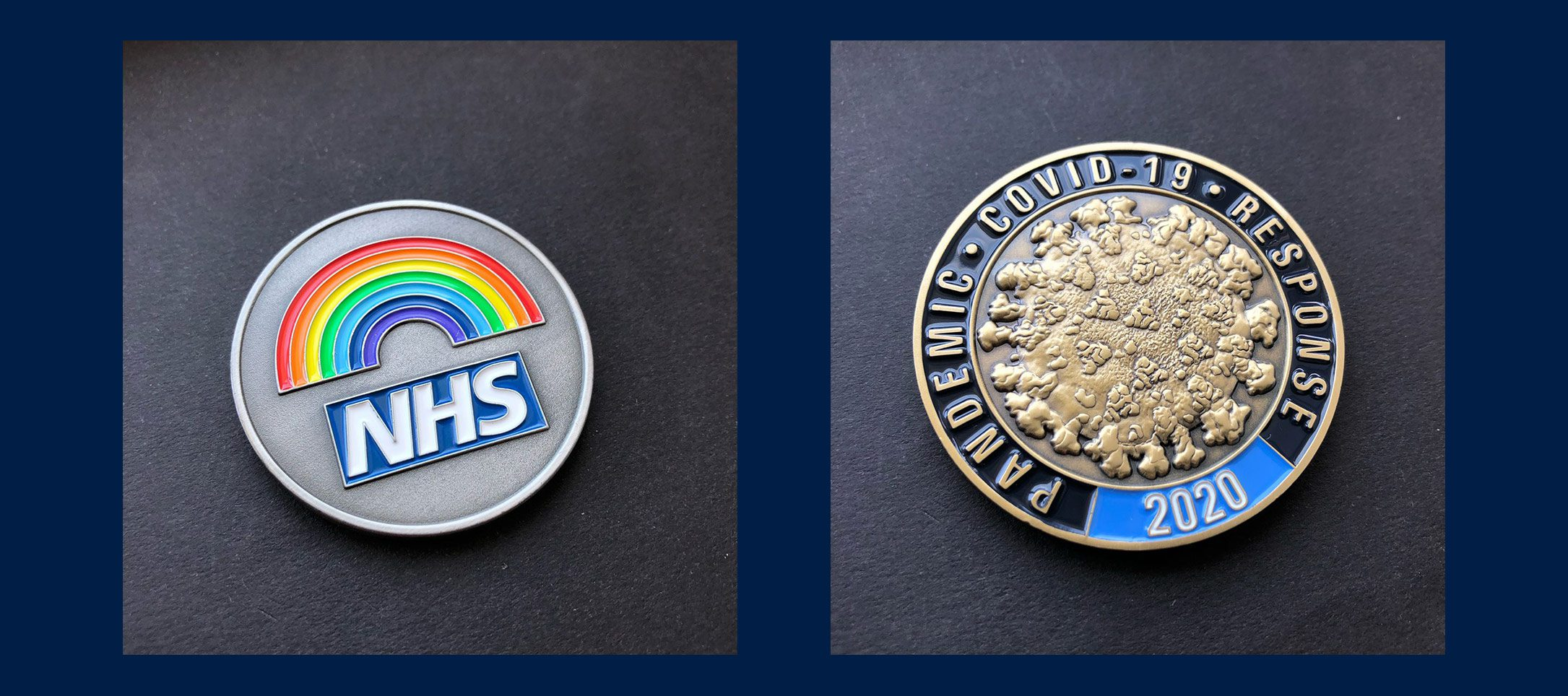 Custom recognition coins