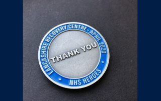 NHS Custom recognition coins