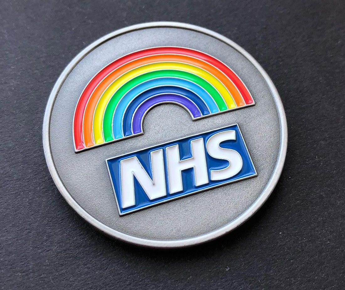 NHS Covid Response Recognition Coin