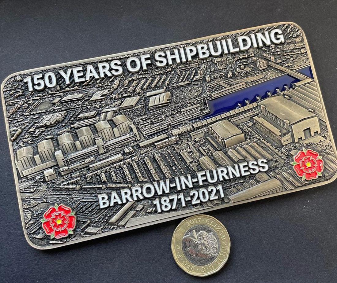Shipbuilding BAE Coin