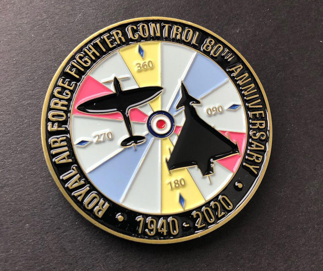 Fighter Challenge Coin