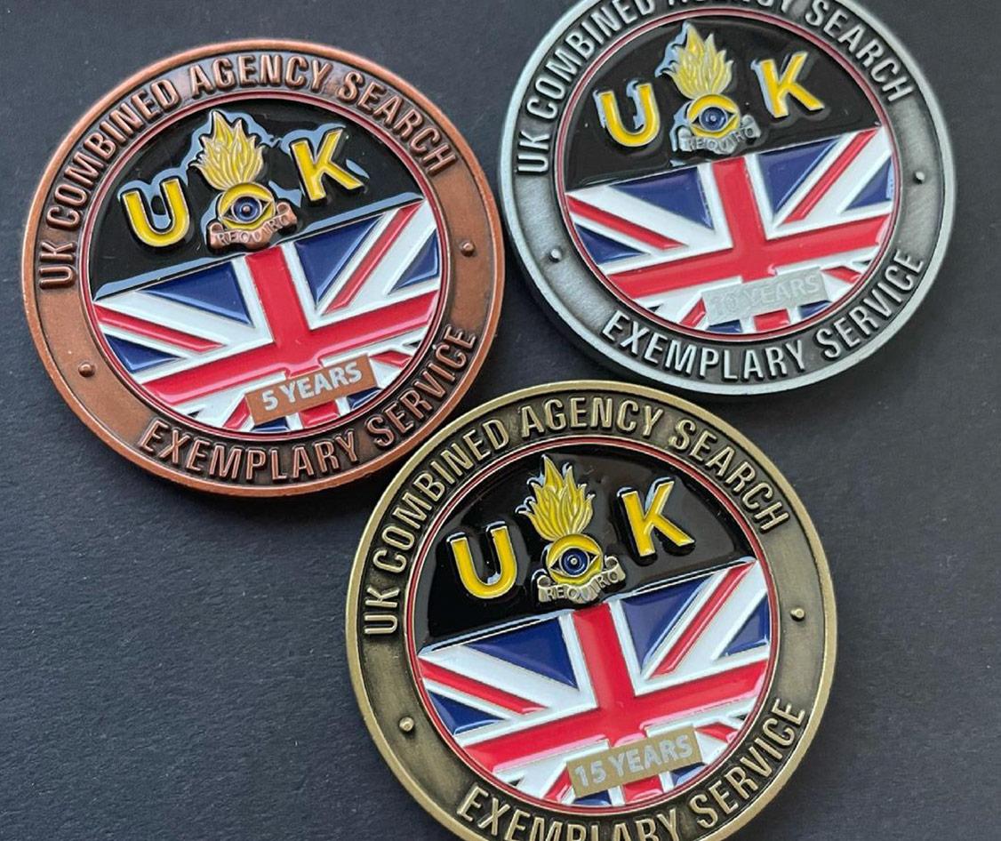 Service Challenge Coins